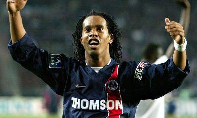 """Ronaldinho est """"Très heureux"""" de faire partie de la fresque au Parc des Princes"""