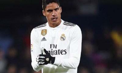 """PSG/Real Madrid - Varane """"C'est une très belle équipe...j'espère qu'on pourra obtenir nos premiers points"""""""
