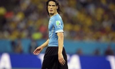Cavani est parmi les joueurs pré-sélectionnés avec l'Uruguay pour la trêve de novembre