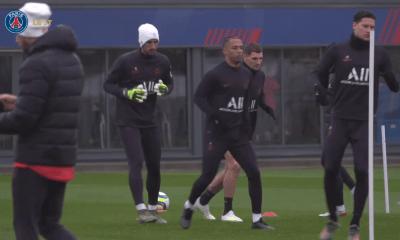 Meunier, Neymar et Kehrer ont participé à l'entraînement collectif du PSG ce lundi
