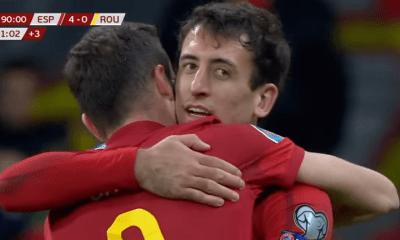 Bernat et Sarabia n'ont pas joué durant la large victoire de l'Espagne contre la Roumanie