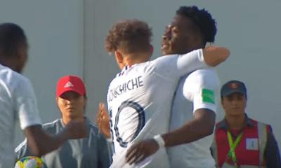 Coupe du Monde U17 - Kalimuendo et Pembele buteurs lors de la victoire de l'Equipe de France contre la Corée du Sud