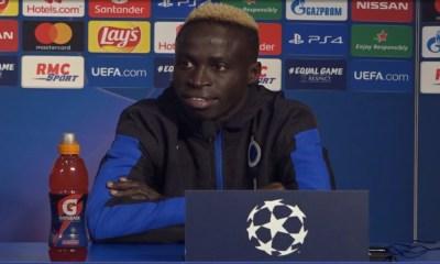 """PSG/Bruges - Diatta """"Mentalement, on est prêt. On est tranquille"""""""