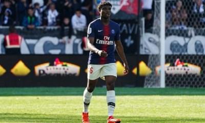 PSG/Bruges - Mbe Soh s'est blessé ce mardi à l'entraînement du PSG