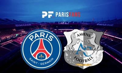 PSG/Amiens - Le groupe amiénois