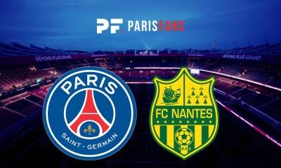 PSG/Nantes - Les équipes officielles :