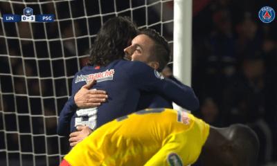 Cavani a inscrit son premier doublé en Coupe de France et s'approche d'un record de l'ère QSI