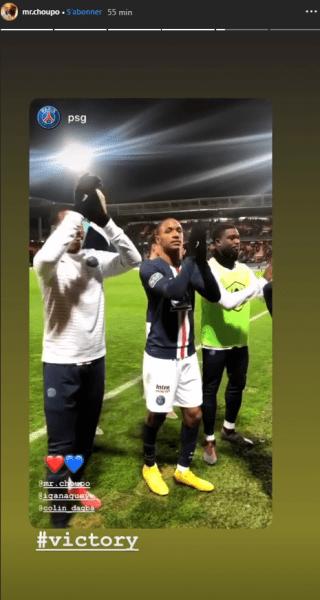 Les images du PSG ce dimanche : célébration de la victoire à Lorient avec les supporters parisiens