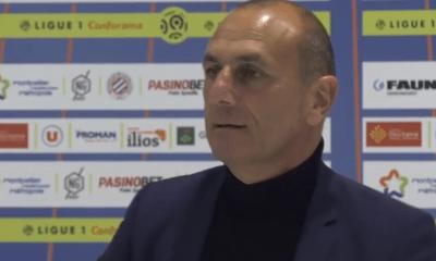 """PSG/Montpellier - Der Zakarian souligne qu'il faut de la justesse """"pour pouvoir exister"""""""