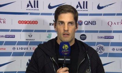 Moreno heureux de la prestation de ses joueurs et de repartir de Paris avec le partage des points