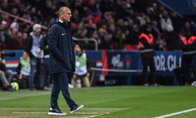 """PSG/Montpellier - Der Zakarian dépité devant la prestation montpelliéraine: """"On se tue le match tout seul"""""""