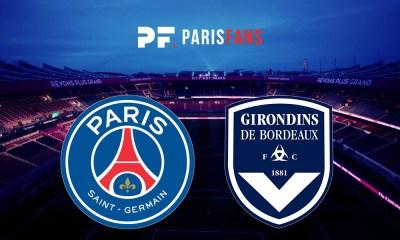 PSG/Bordeaux - Les équipes officielles :