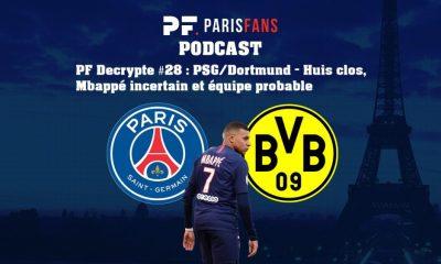 Podcast PSG/Dortmund - Huis clos, Mbappé incertain et équipe probable
