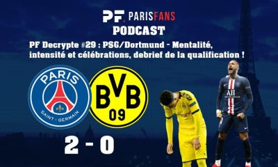 Podcast PSG/Dortmund - Mentalité, intensité et célébrations, debrief de la qualification !