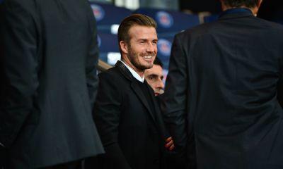 """David Beckham couvert d'éloges par Jérémy Ménez, """"un Monsieur"""""""