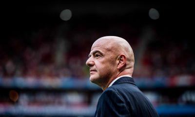 Infantino, le président de la FIFA, s'exprime à propos de la situation du football et la reprise