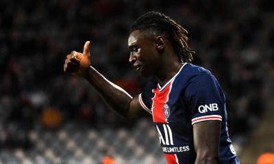 """Nîmes/PSG - Kean souligne que """"l'équipe a bien joué et était prête au combat."""""""