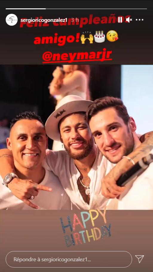 Les images du PSG ce vendredi: Anniversaire de Neymar et préparation du Classique