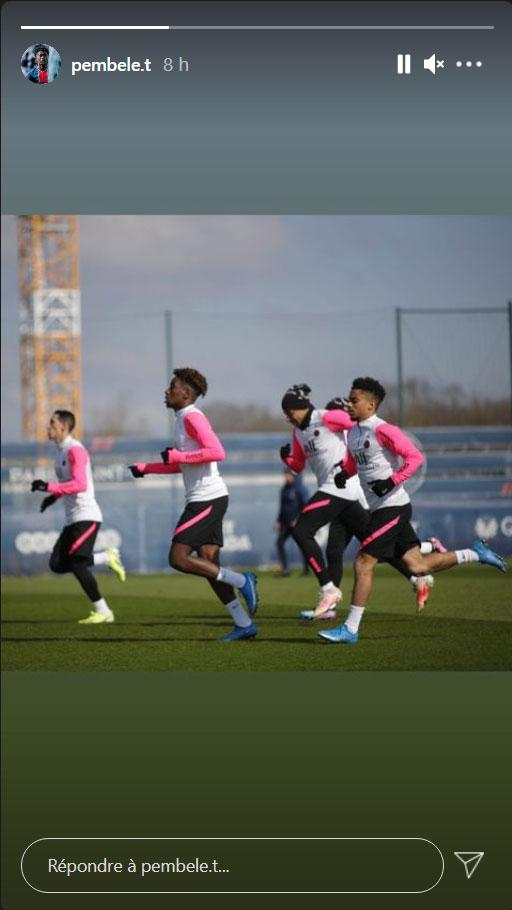 Les images du PSG ce vendredi: Le Bayern en quarts et entraînement