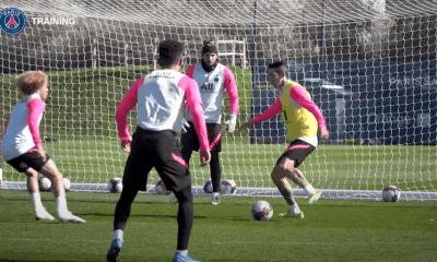 Bordeaux/PSG - Retrouvez des extraits du dernier entraînement avant le match