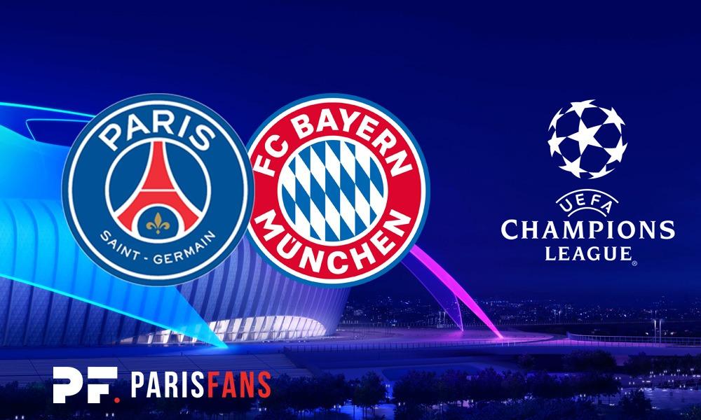 PSG/Bayern - Chaîne et heure de diffusion
