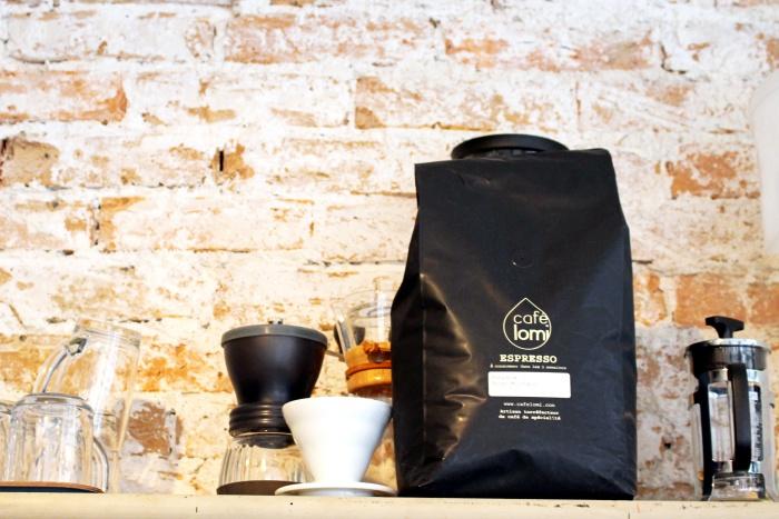 Cafe Lomi coffee