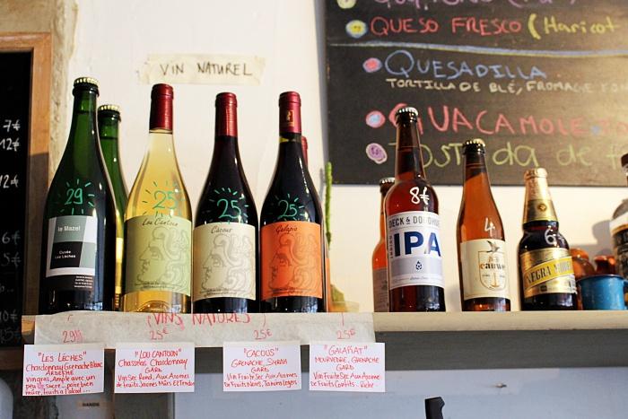 natural wines Paris