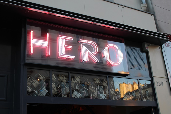 Hero Paris restaurant
