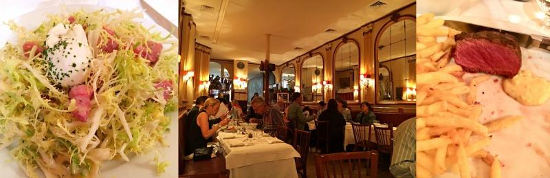 Chez Georges Rue du Mail bistrots français classiques à Paris
