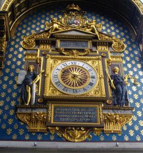 Horloge Palais de la Cité