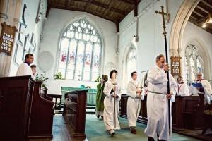 All Saints Church - Communion procession