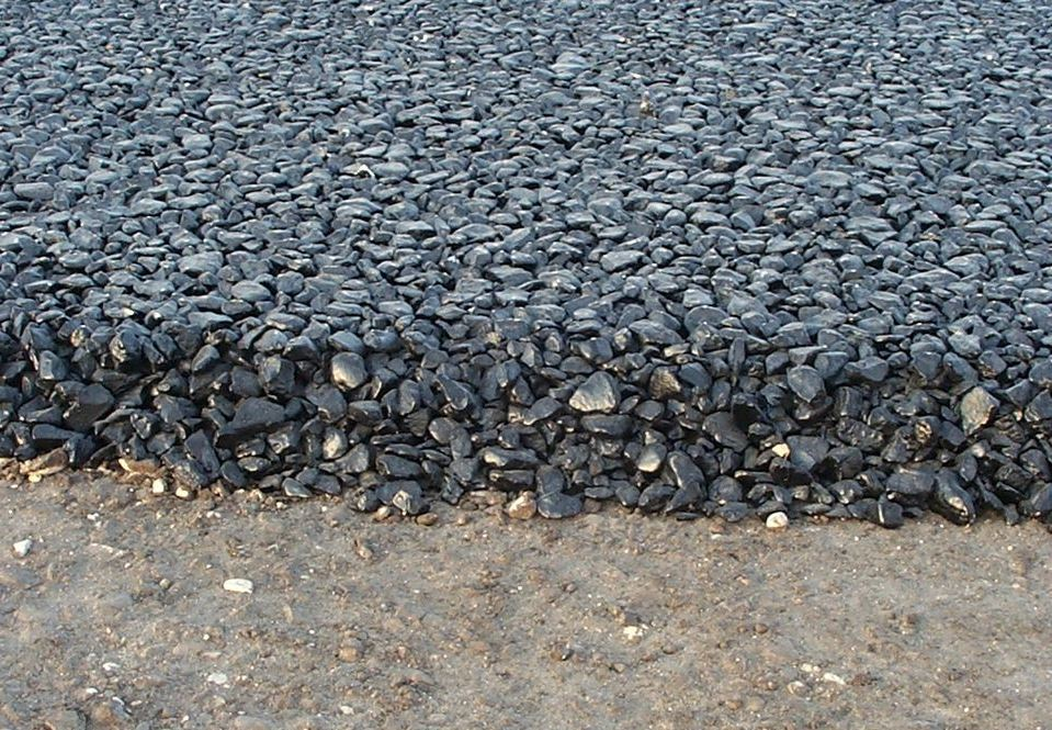 stoned laid driveway