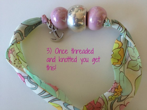 French fashion and trends Creative project the ribbon  bead necklacebracelet  PARIS HUES