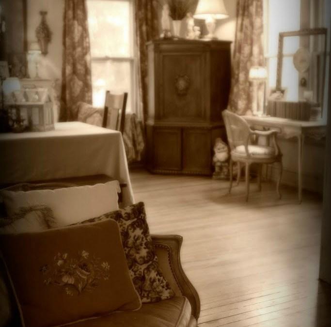 Fête le Printemps…a Living Room/Dining Room SWAP!