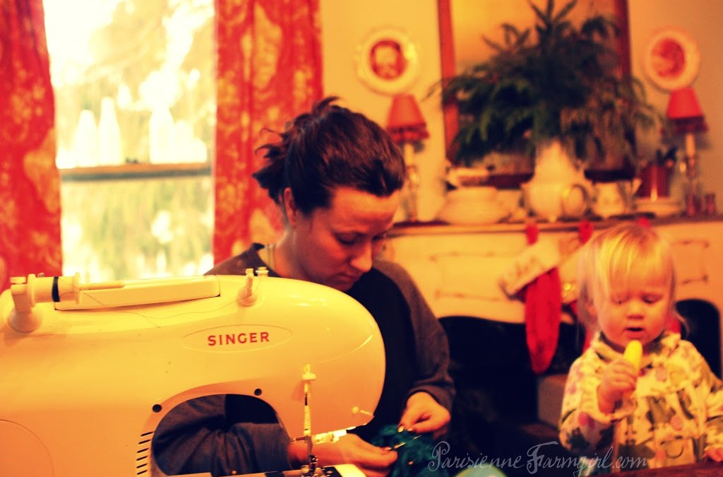 The Final Sewing Project Fitting. And More Teasers about the Big News. | Parisienne Farmgirl