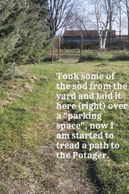 shot of a path and through a gate with overlaying text