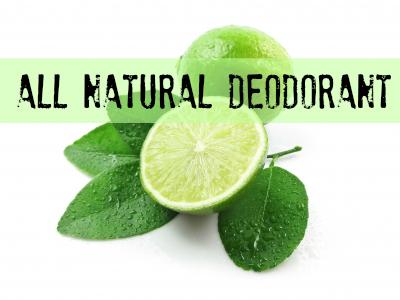 Easy Deodorant Recipe