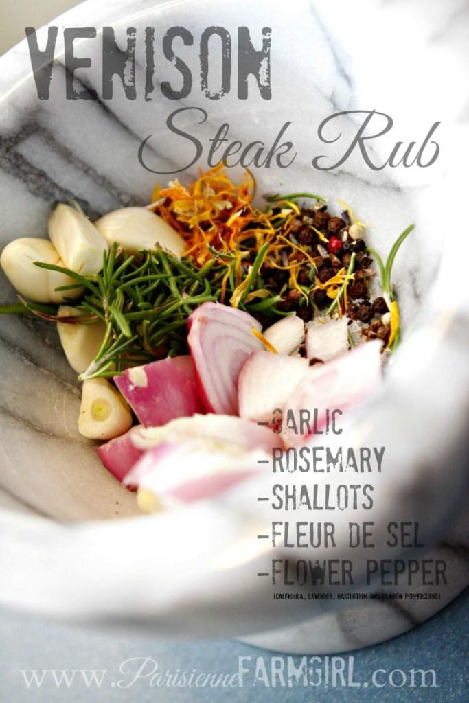 venison steak rub