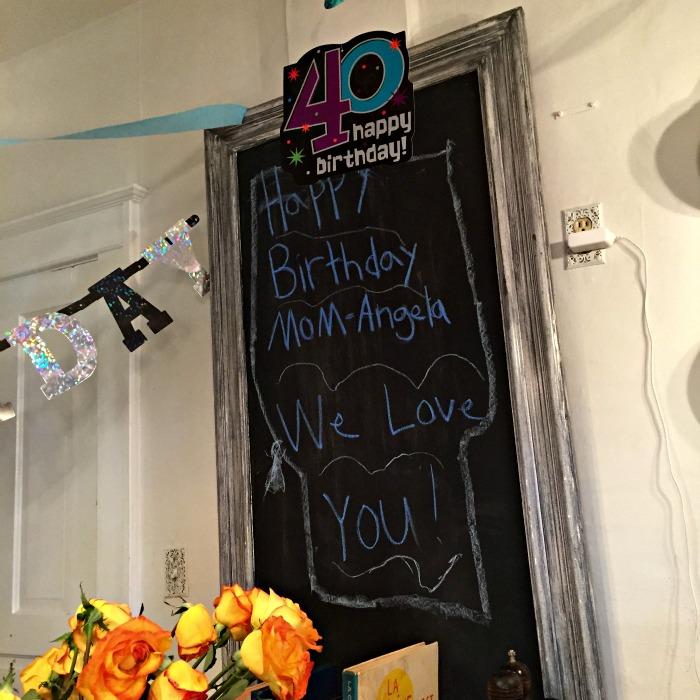 40 Happy Birthday! Happy Birthday Mom-Angela We Love You!