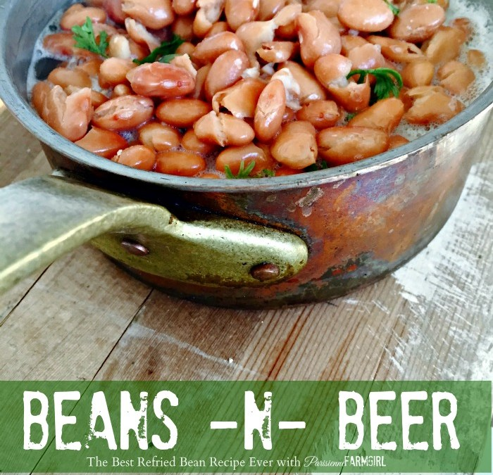The Best Refried Bean Recipe Ever.