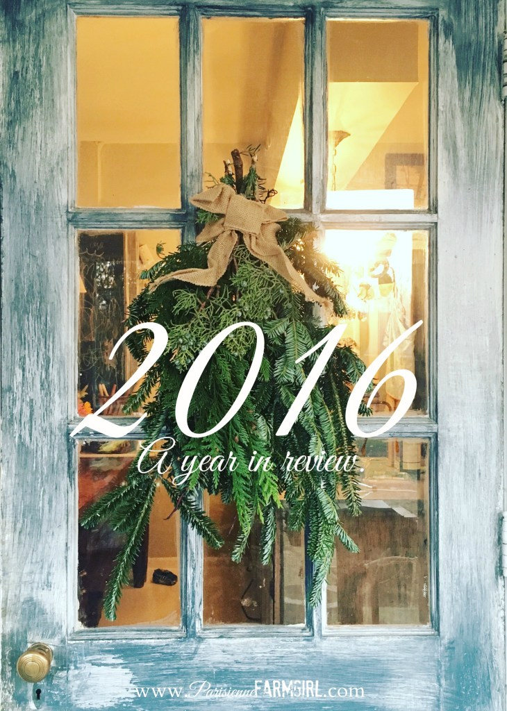 2016 a Year in Review: babies, family and happiness!