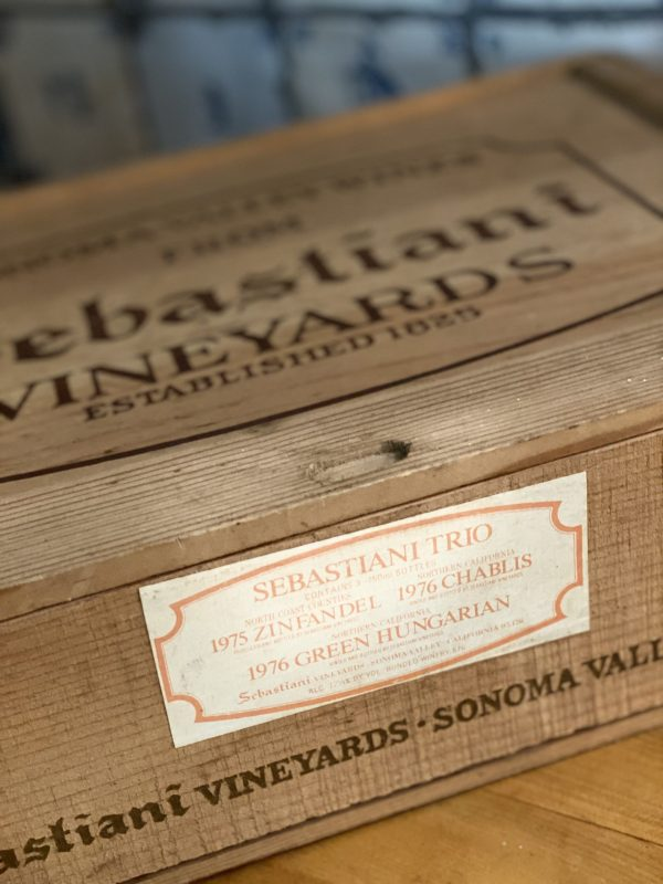 Sebastiani Wine Box