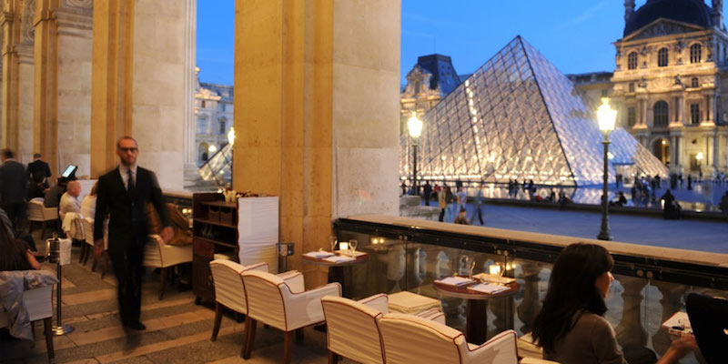 Restaurant Cafe Marly Paris