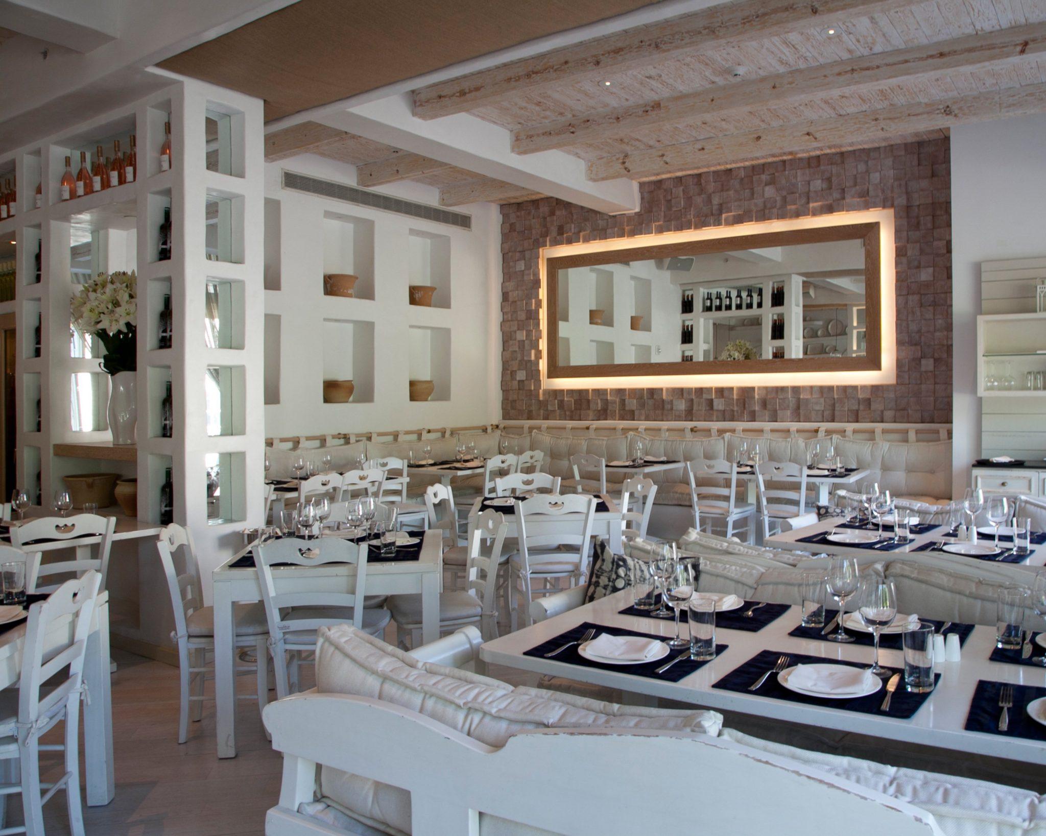 Kyma Restaurant Roslyn Paris K Design Interior Design