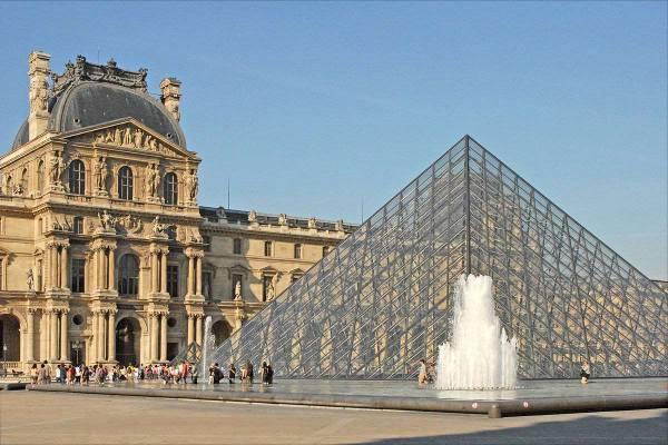 Le Musee Du Louvre Paris