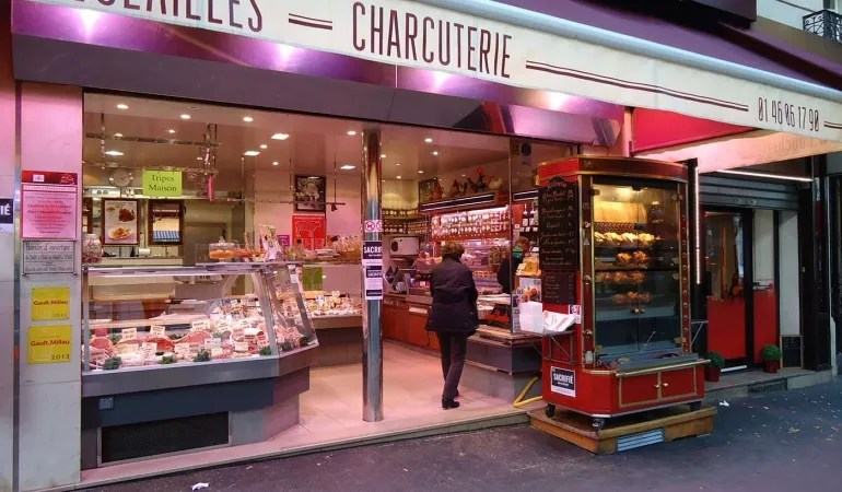 Local butcher & charcuterie