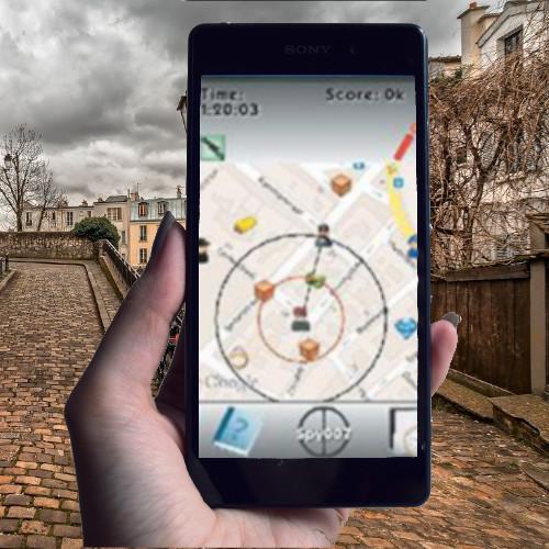 GPS Game Paris