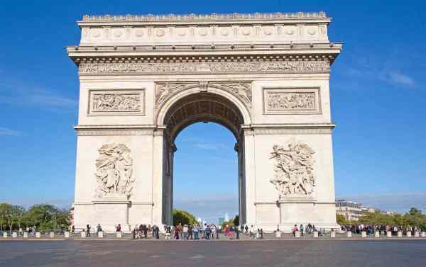 Visiting Arc De Triomphe In Paris