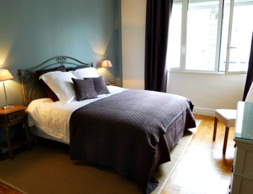 peaceful master bedroom Discover the Parisians' Paris at the Carignan - Paris Perfect