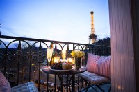 Apartment With View Of Eiffel Tower - Apartment Decorating ...